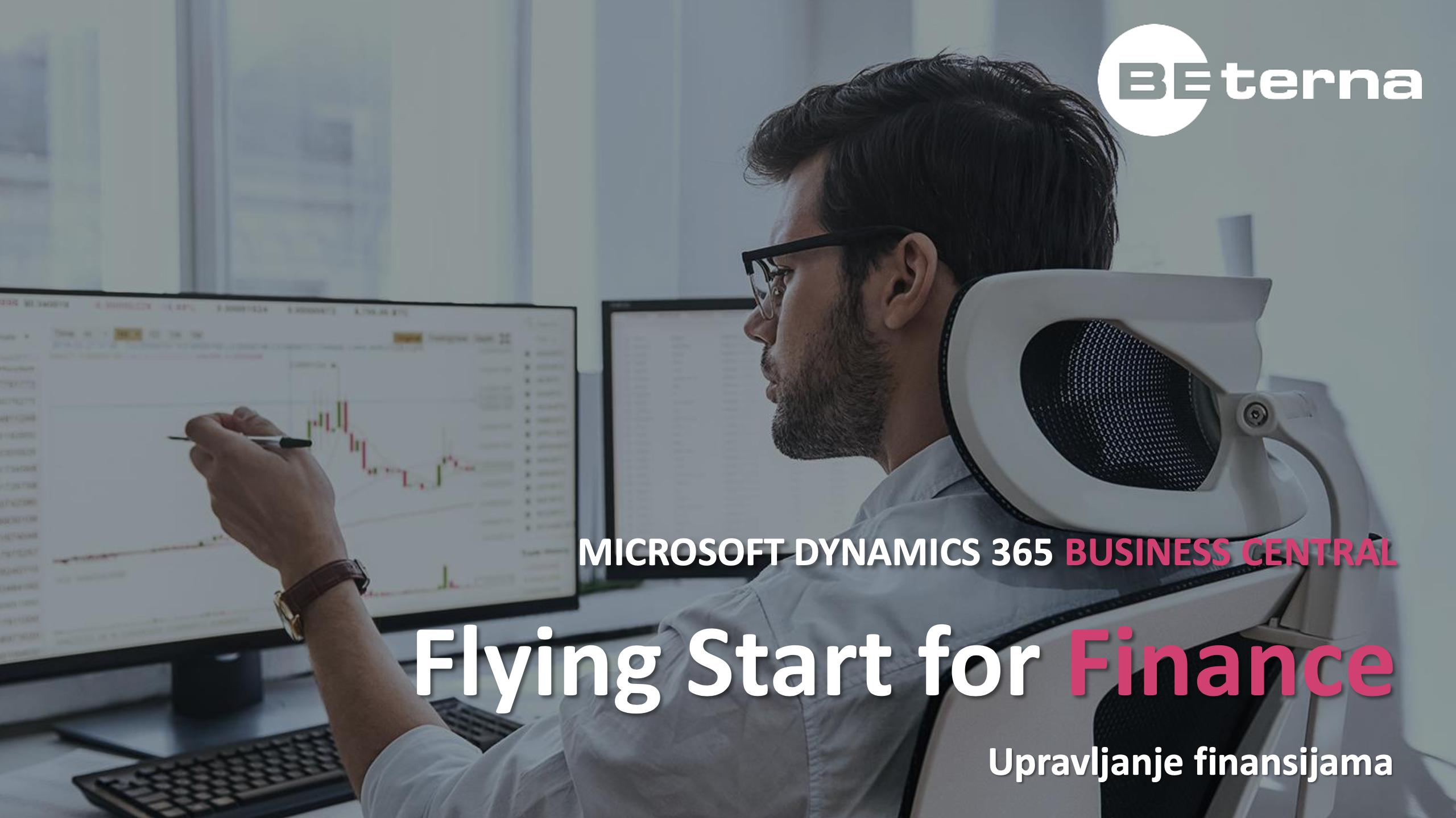 Business Central Flying Start for Finance