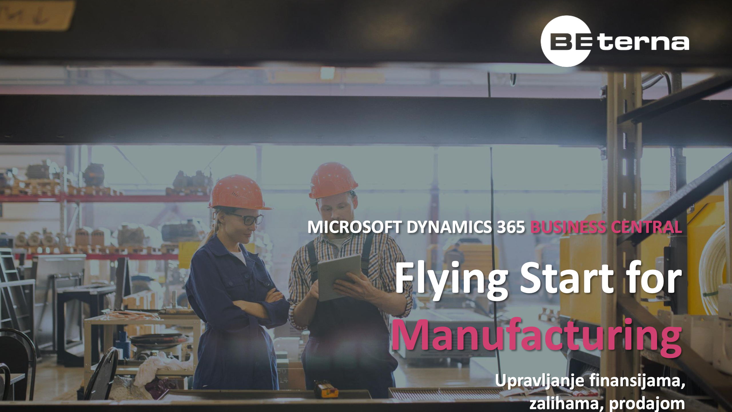 Business Central Flying Start for Manufacturing